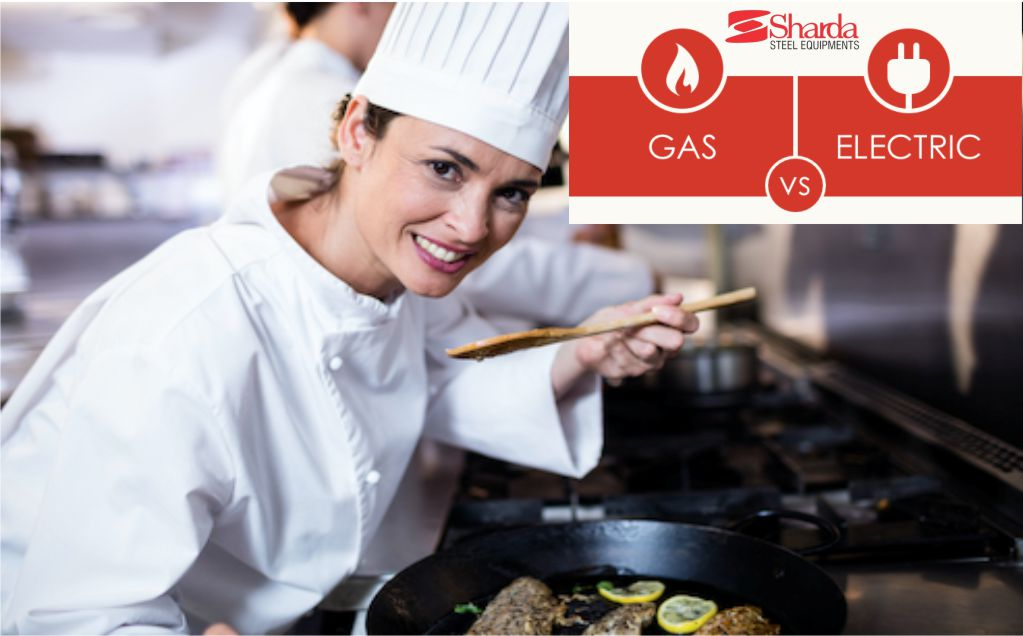 electrical vs gas kitchen equipment
