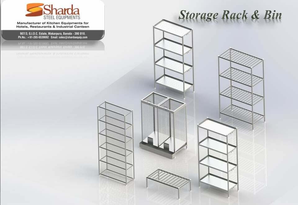 Storage Rack and Bin