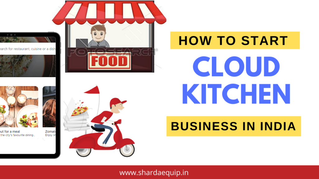 how to start cloud kitchen in India