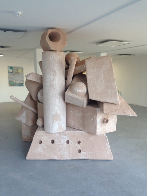 Jack Killick: Collapse 2016 (Plaster, cardboard and scrim, Dimensions variable)