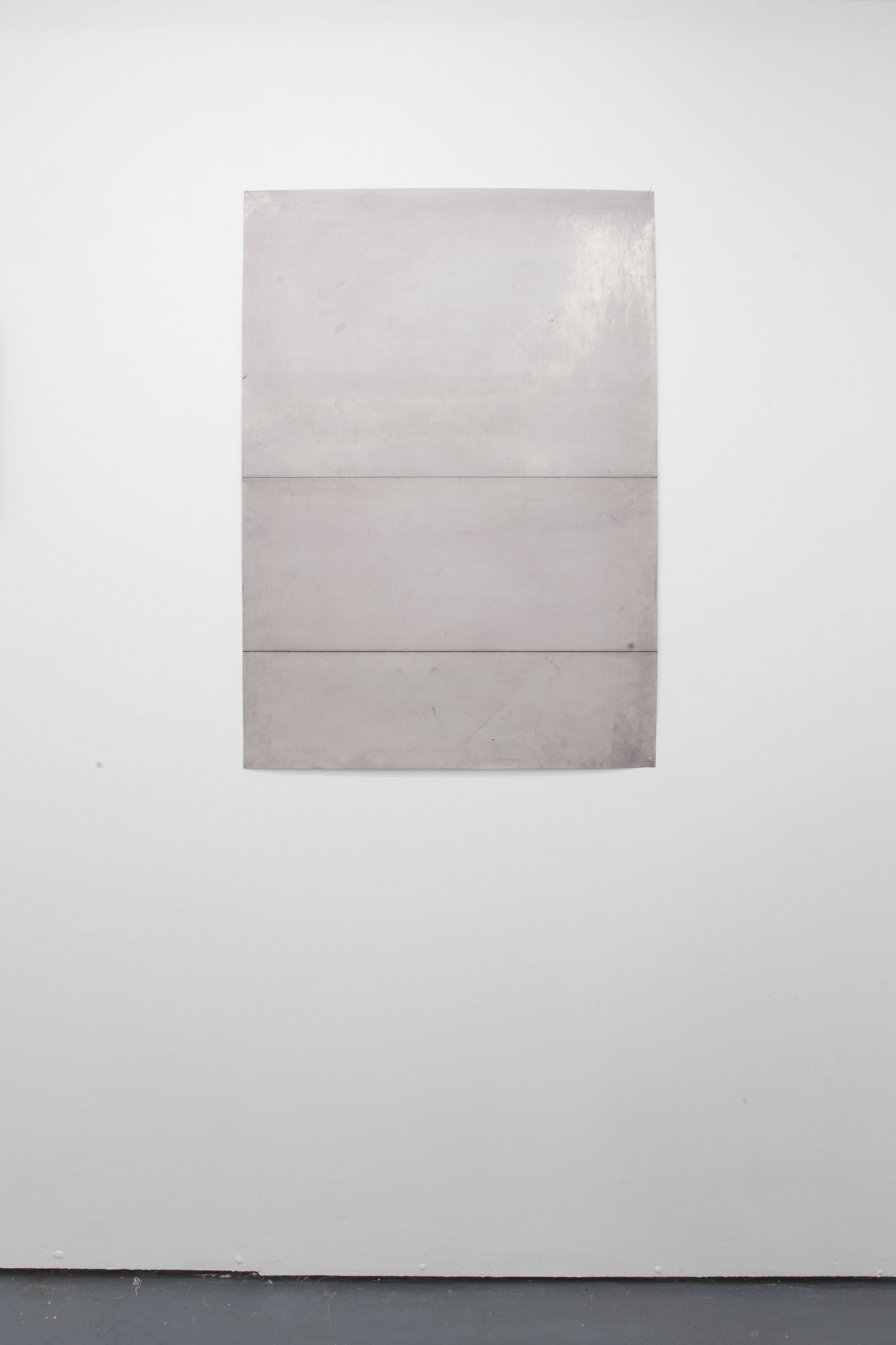 Anna Paterson Rose (2019); 64x290cm; Oil on paper.