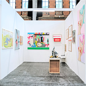 LUNGLEY Gallery at Manchester Contemporary art fair 2019