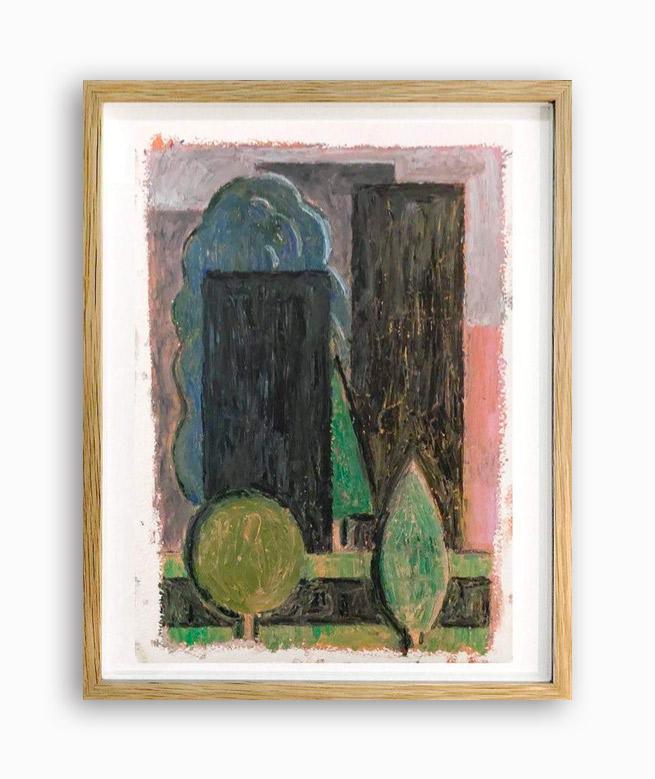 Rae-Hicks-Cemetery-21x30cm-oil-pastel-on-paper-2019