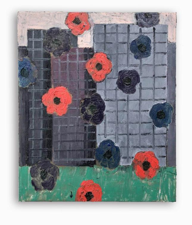 Rae-Hicks-City-Lawn-50x60cm-oil-on-canvas-2019
