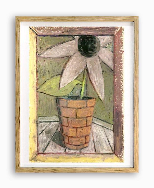 Rae-Hicks-Menace-21x30cm-oil-pastel-on-paper-2019