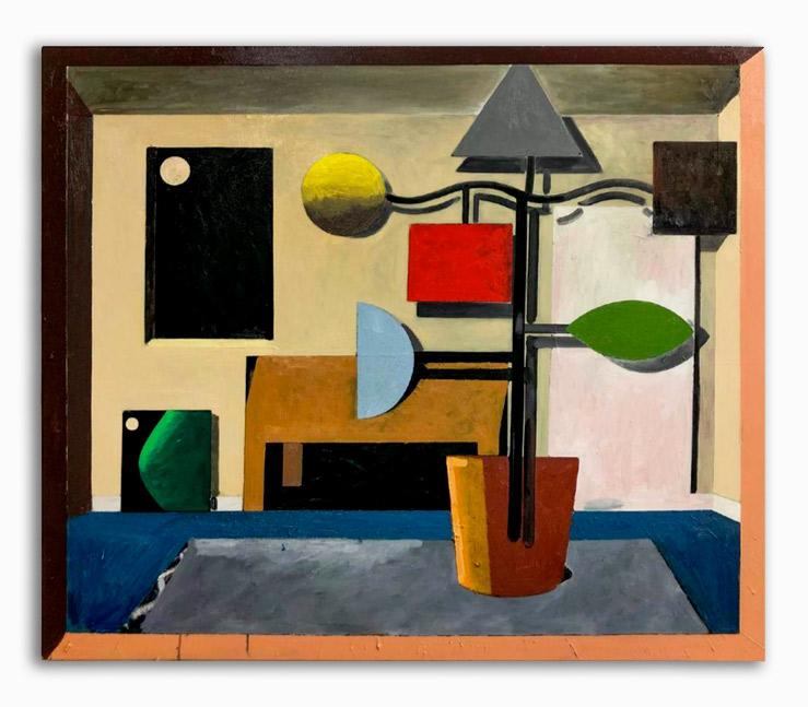 Rae-Hicks-The Plant 145x175cm oil on canvas 2020