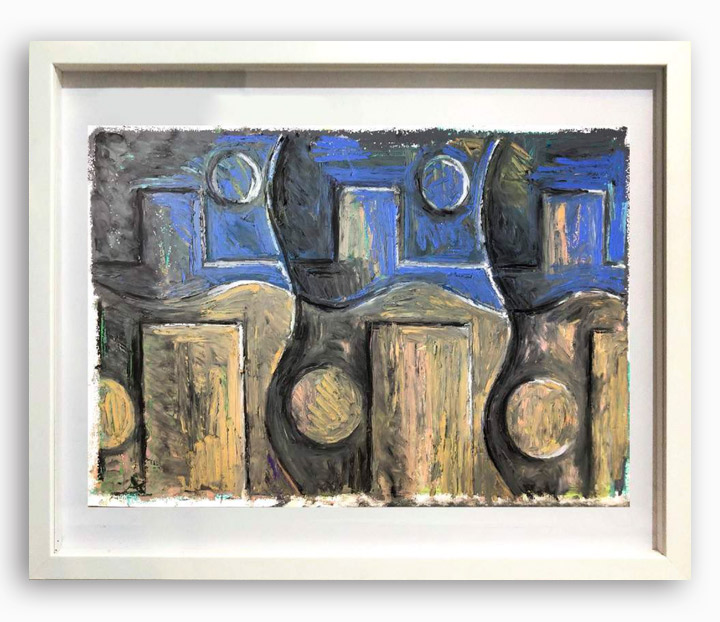 Rae-Hicks-Three-Day-Week-42x30cm-oil-pastel-on-paper-2019