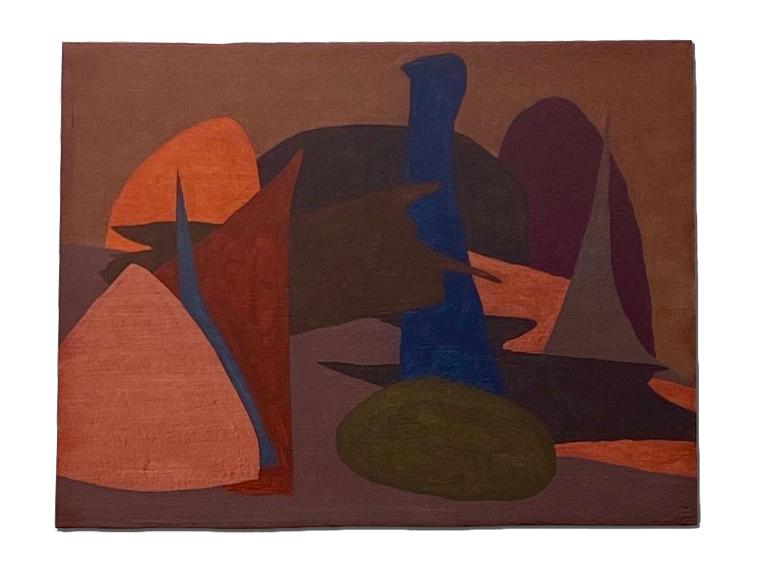Jack Killick: Jam (2020) Acrylic on board (22cm x 30cm).
