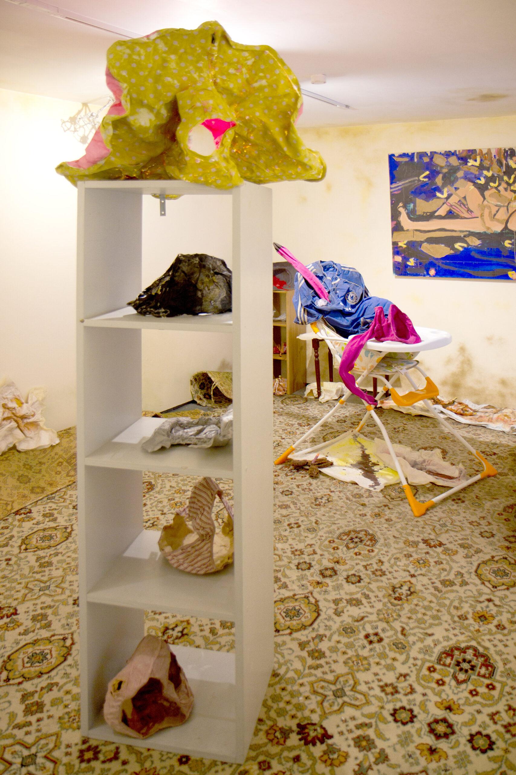 Lana Locke: Making (Babies) at Lungley gallery, London.