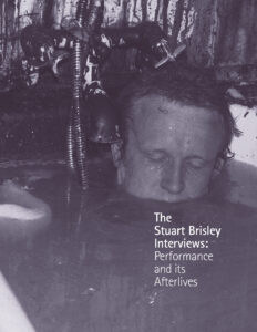 Stuart Brisley - Interviews Performance and its afterlives published by Book Works