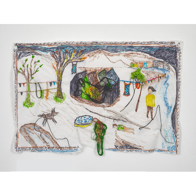 Brian Dawn Chalkley: The untold depth of Savagery 2020 at Lungley Gallery