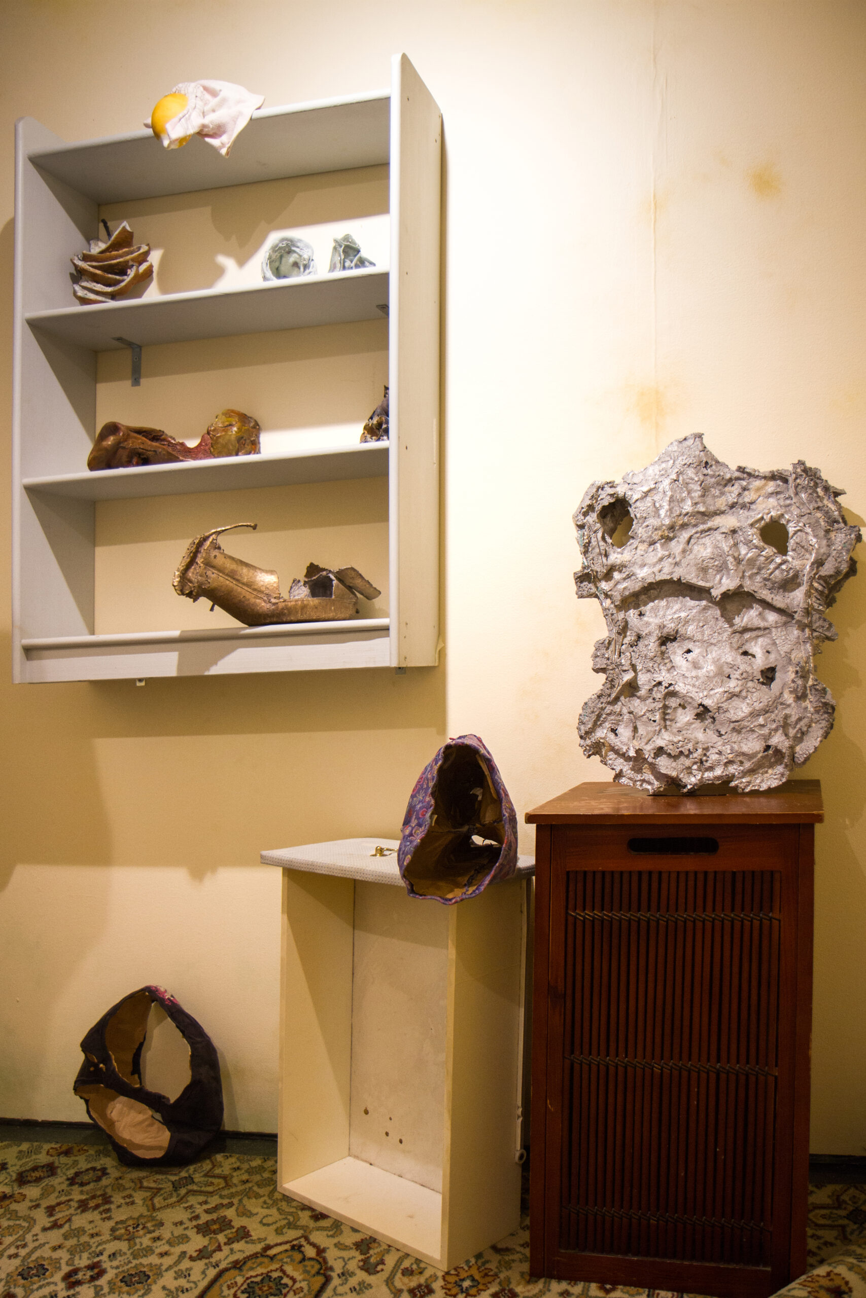 Lana Locke Making (Babies) at LUNGLEY Gallery 2020
