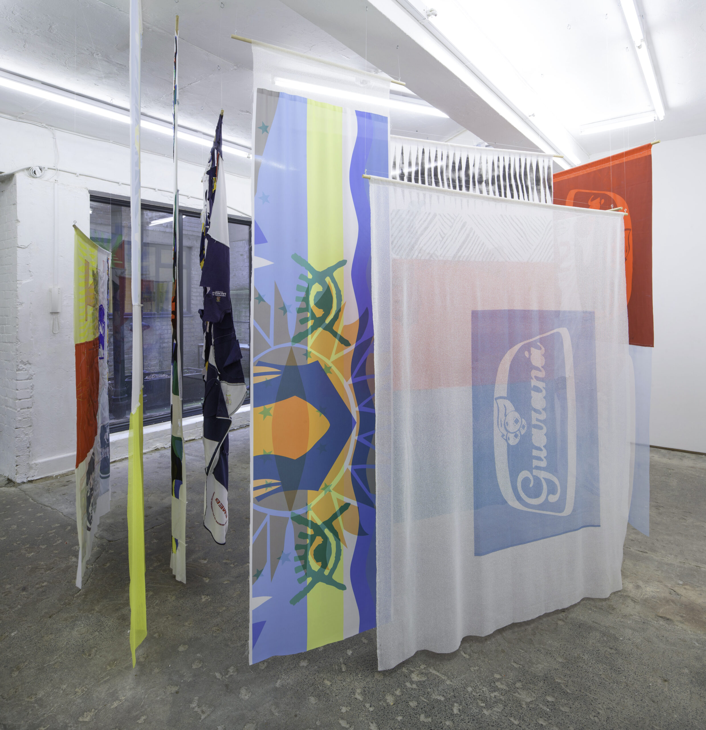 Vanessa da Silva 'The Inner Rhythm of the Collective' (2021) at LUNGLEY Gallery