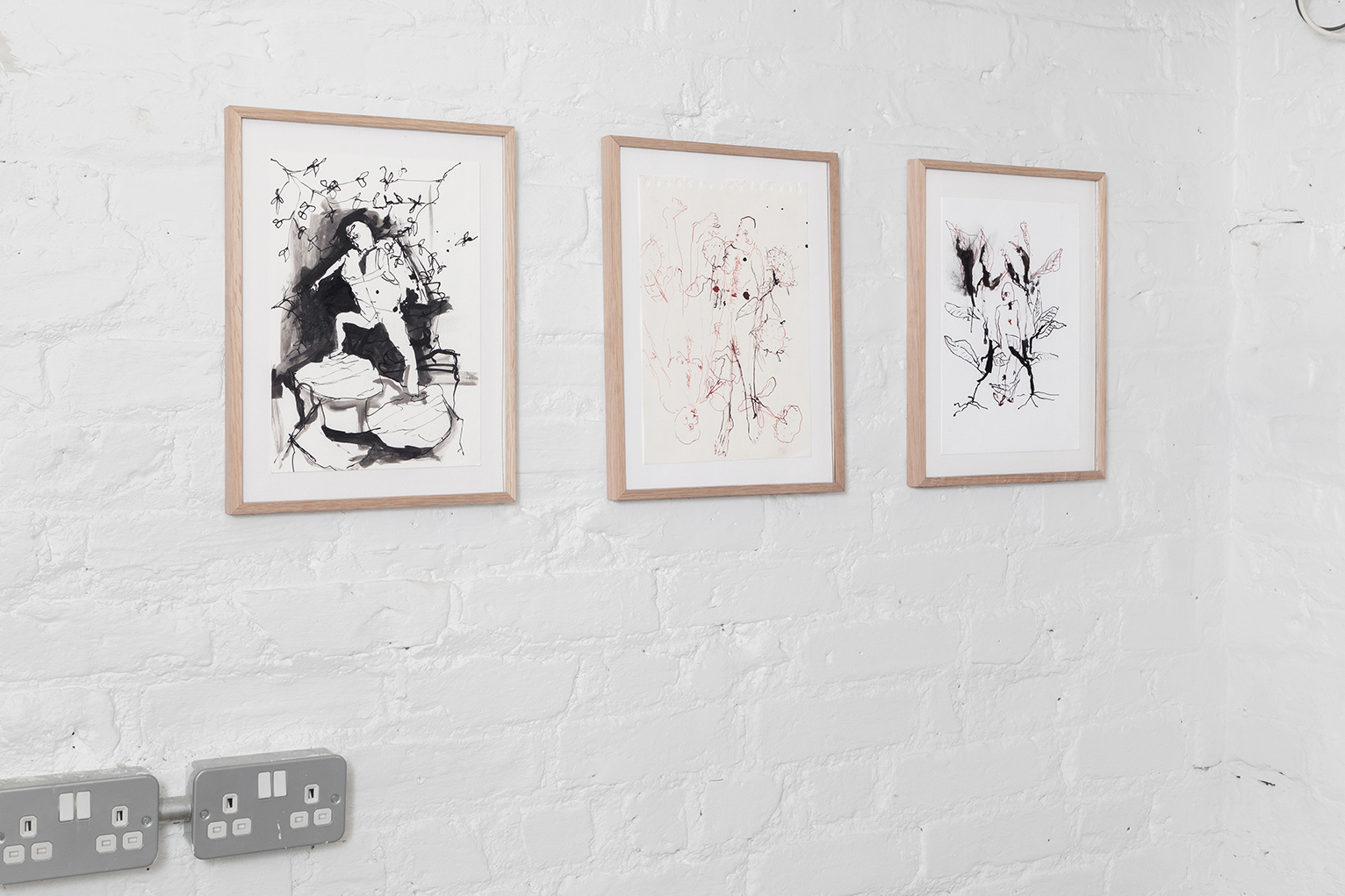 Andriu Deplazes: Blind in the Seaweeds at Lungley Gallery, London