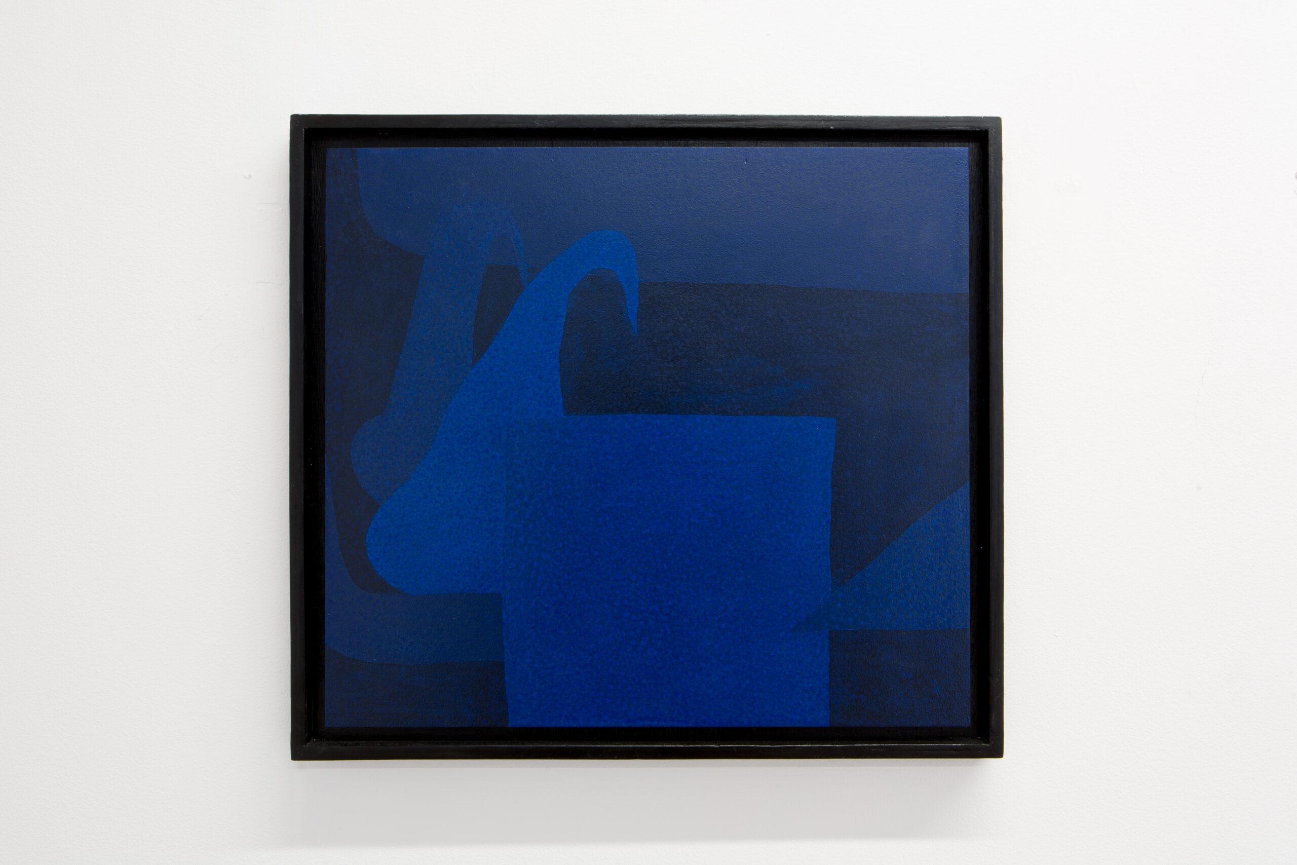 Jack Killick Creep (2020) Acrylic on board, 34 cm x 38 cm Float mounted and framed.