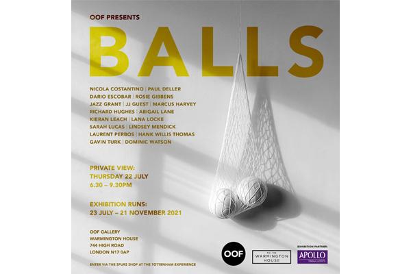 Lana Locke- OOF Balls group show