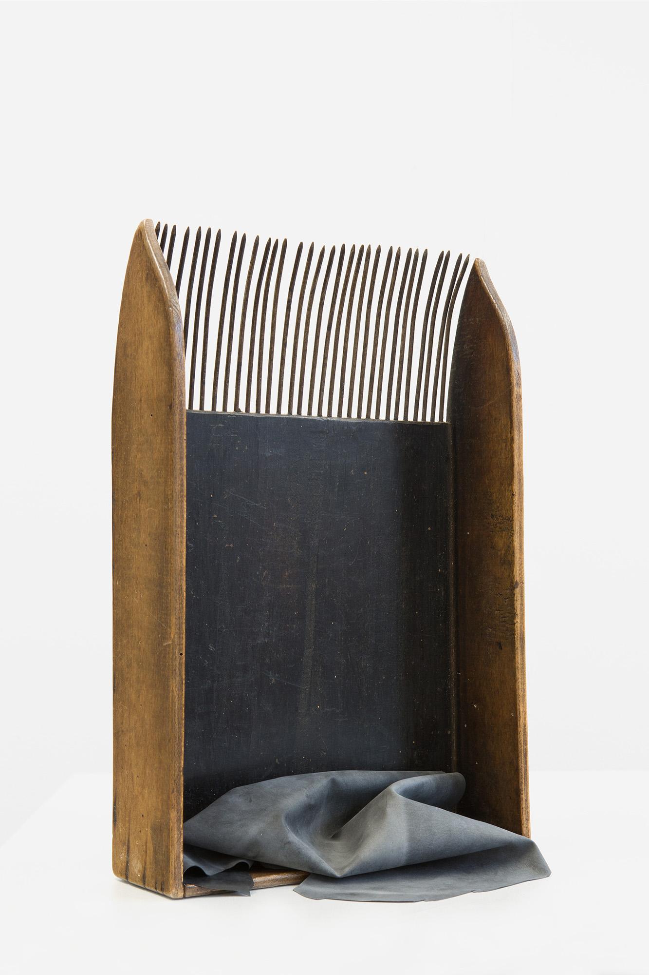 Maya Balcioglu Untitled (2019) Latex on agricultural tool, 38 cm x 25 cm x 8 cm