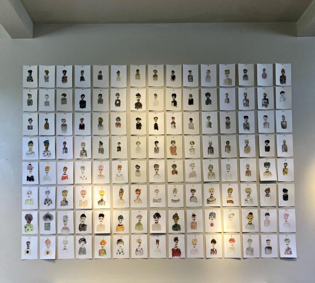 Brian Dawn Chalkley at Chelsea Arts Club, London