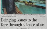Bringing issues to the fore through science of art - Hindustan Times