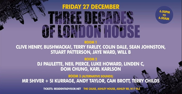 Three Decades of London House – 27 December