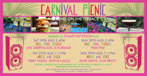 Event: Carnival Picnic – 29 and 30 August at The Royal Oak