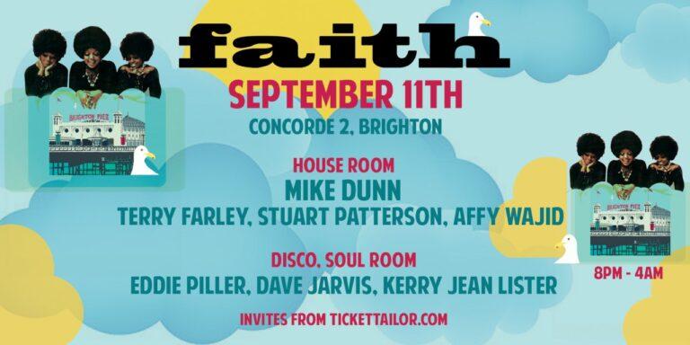 Faith Brighton with Mike Dunn, 11 September