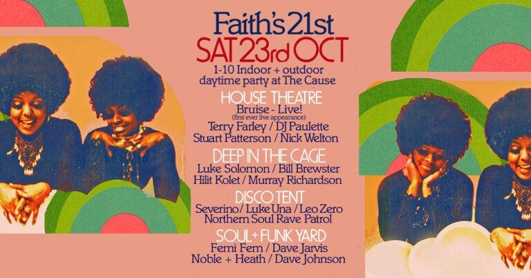 Faith 21st (or 22nd?) Birthday – 23 October