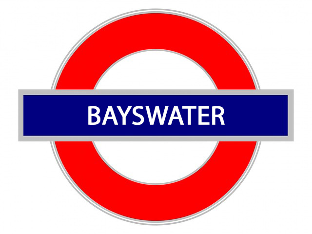 Bayswater. sign