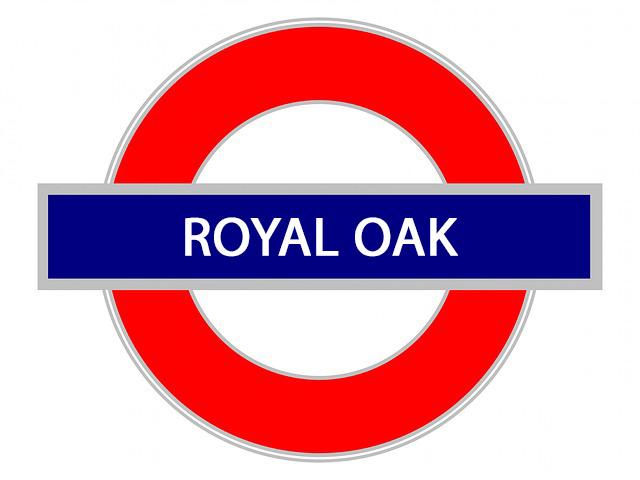 royal oak sign