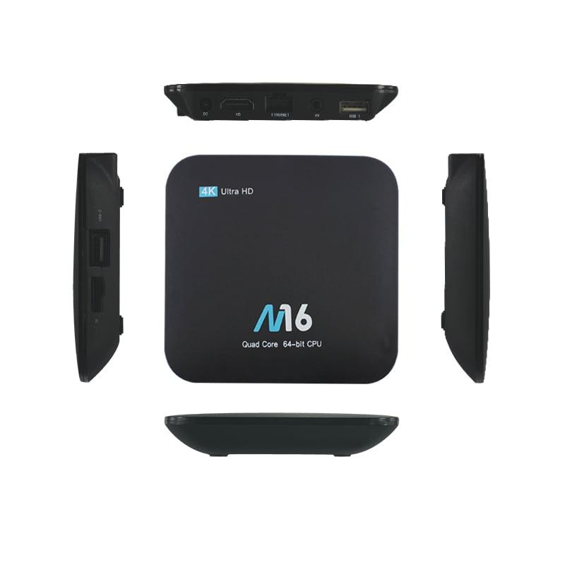 MXQ PRO Andriod TV BOX Amlogic S905 Cortex A53 Quad-core 1GB 8GB WiFi HD 4K HDMI Player 06