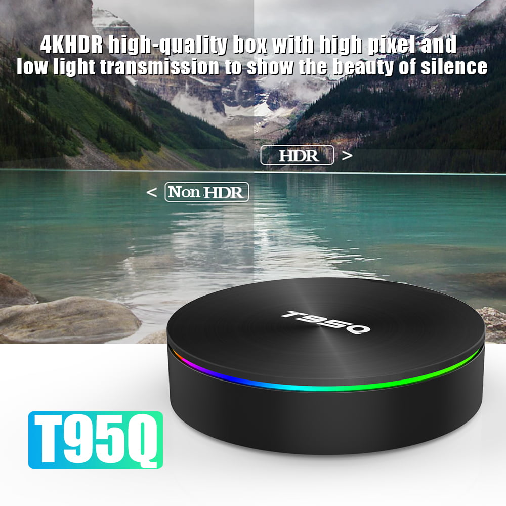 Firefly T95Q Android Smart TV Box T95Q 64bit Quad S905X2 2Ghz 4G DDR3 32G flash Android 8.1 OS 5G 2.4G 11