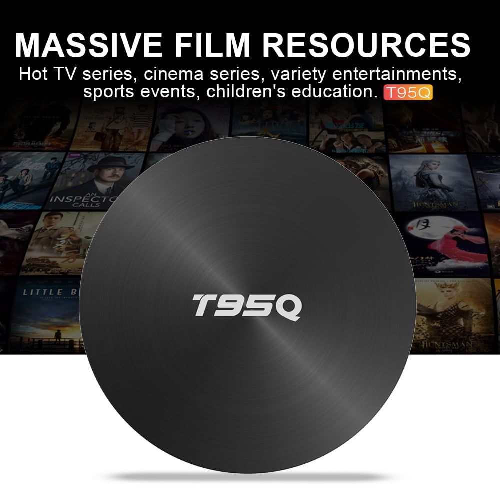 Firefly T95Q Android Smart TV Box T95Q 64bit Quad S905X2 2Ghz 4G DDR3 32G flash Android 8.1 OS 5G 2.4G 9