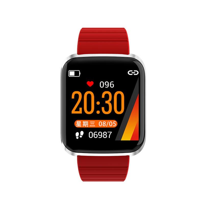116 pro smart watch 1.3 inch heart rate blood pressure (11)