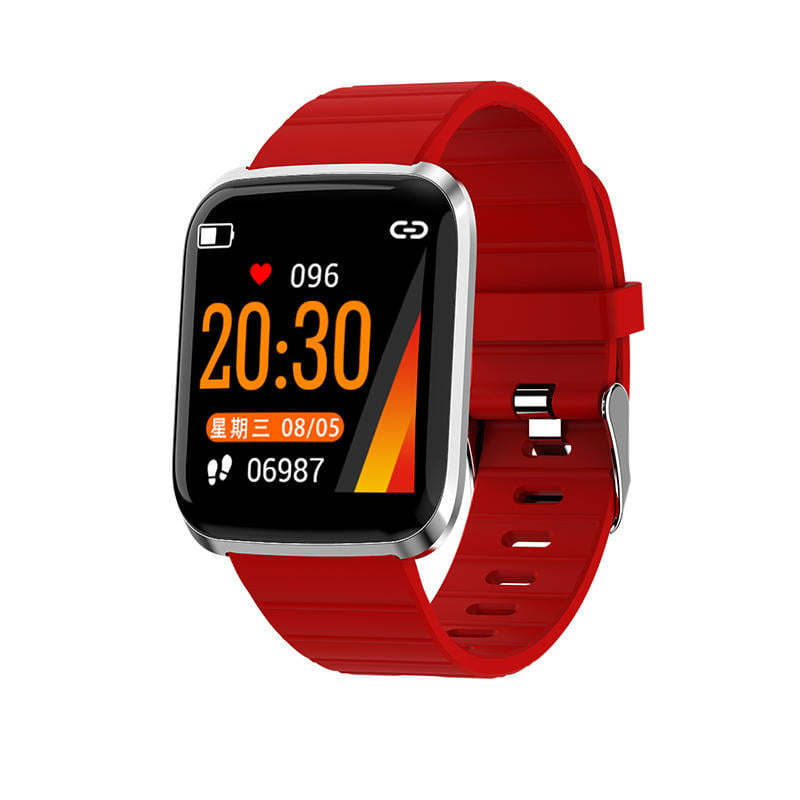 116 pro smart watch 1.3 inch heart rate blood pressure (13)