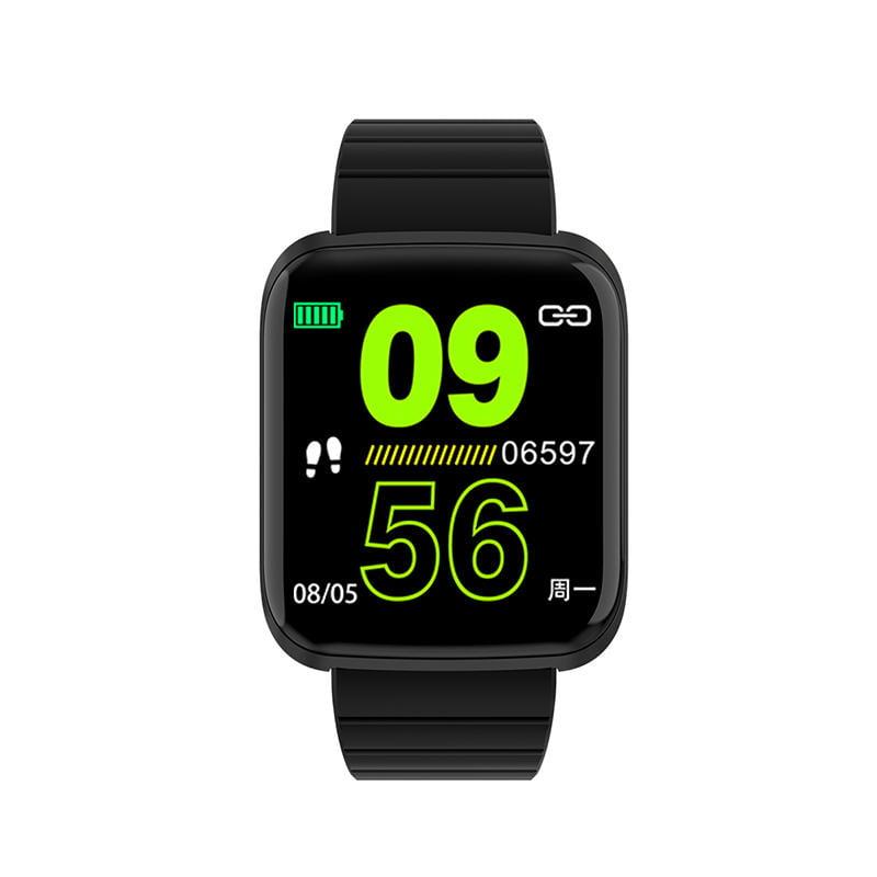 116 pro smart watch 1.3 inch heart rate blood pressure (6)