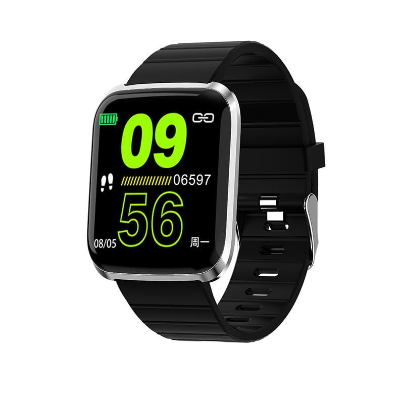 116 pro smart watch 1.3 inch heart rate blood pressure (7)