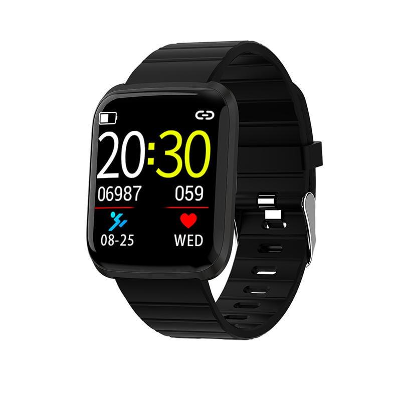 116 pro smart watch 1.3 inch heart rate blood pressure (9)