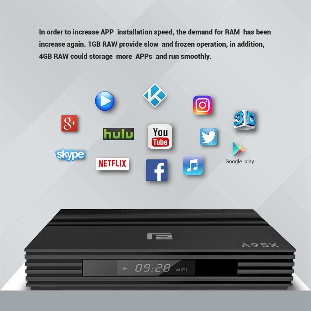 A95X F2 Amlogic S905X2 Android 9.0 4GB RAM 32GB 4K Smart TV Box (15)