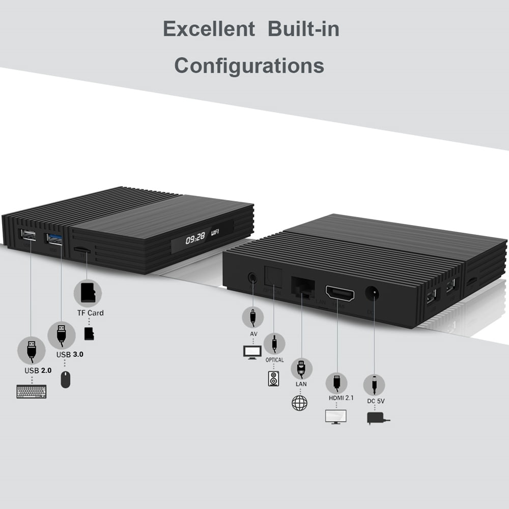 A95X F2 Amlogic S905X2 Android 9.0 4GB RAM 32GB 4K Smart TV Box (7)