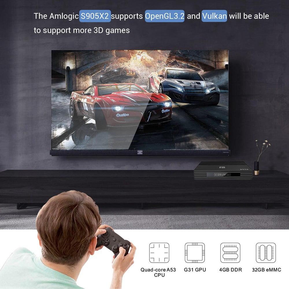 A95X F2 Amlogic S905X2 Android 9.0 4GB RAM 32GB 4K Smart TV Box (8)