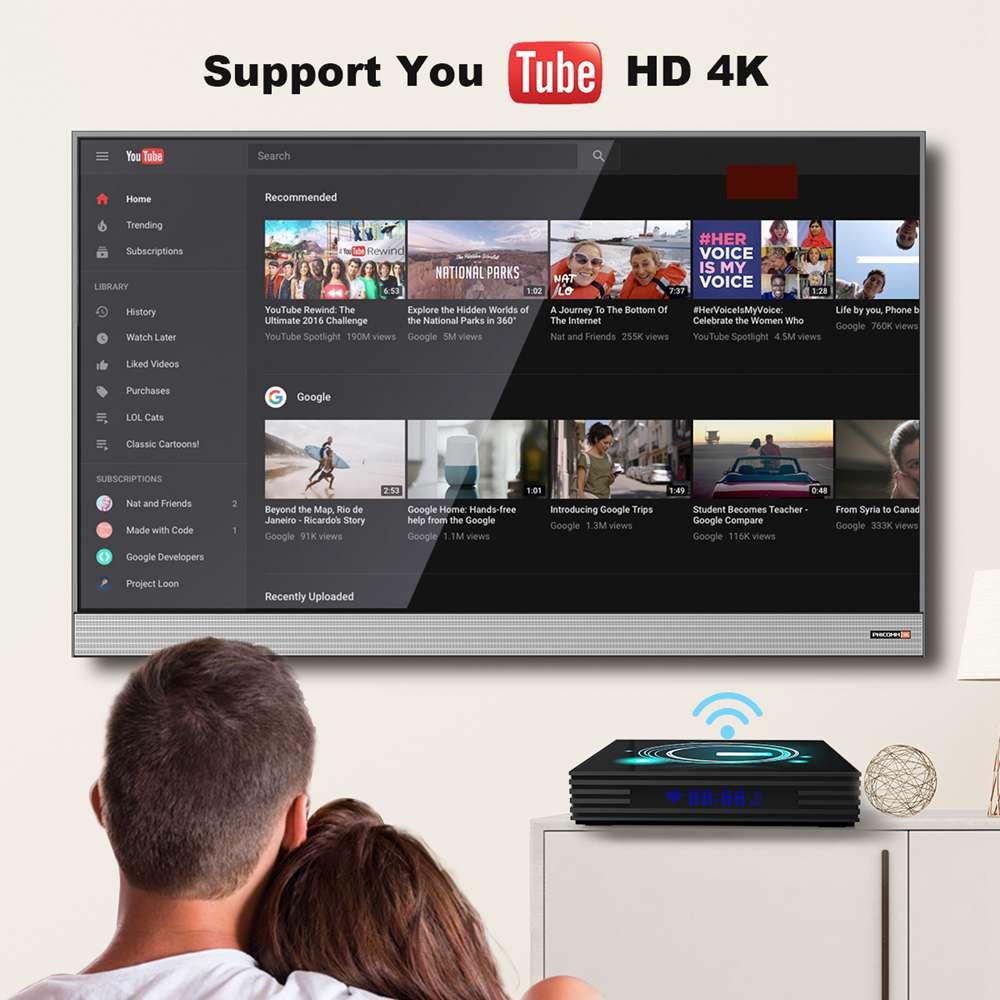 A95X F3 Slim 4GB 32GB Amlogic S905x3 Android 9.0 8K Video Decode Smart TV Box (15)