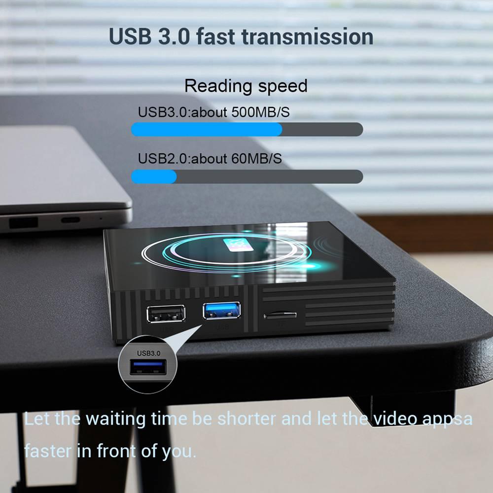 A95X F3 Slim 4GB 32GB Amlogic S905x3 Android 9.0 8K Video Decode Smart TV Box (2)
