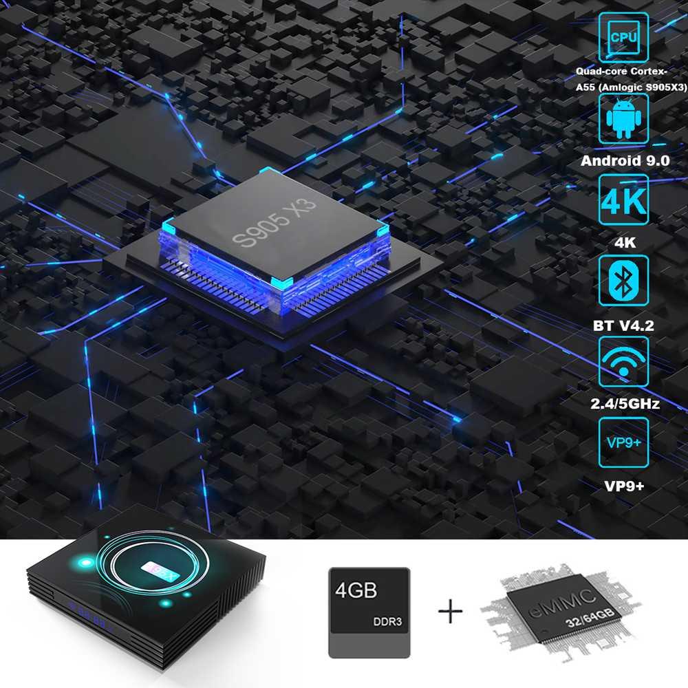 A95X F3 Slim 4GB 32GB Amlogic S905x3 Android 9.0 8K Video Decode Smart TV Box (20)