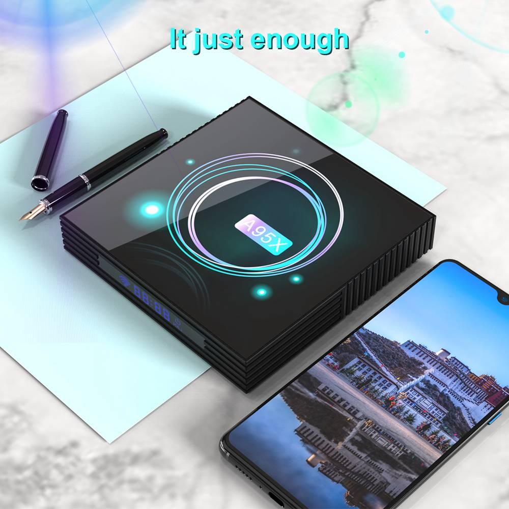 A95X F3 Slim 4GB 32GB Amlogic S905x3 Android 9.0 8K Video Decode Smart TV Box (4)