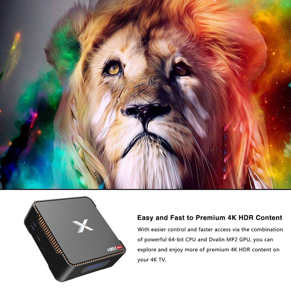 A95X MAX Amlogic S905X2 Android 8.1 4GB RAM 64GB ROM Smart TV Box (32)
