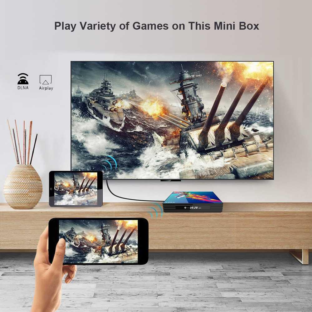 A95X R3 Android 9.0 RK3318 4G RAM 64G ROM 5G WIFI 100M LAN Smart TV BOX (3)