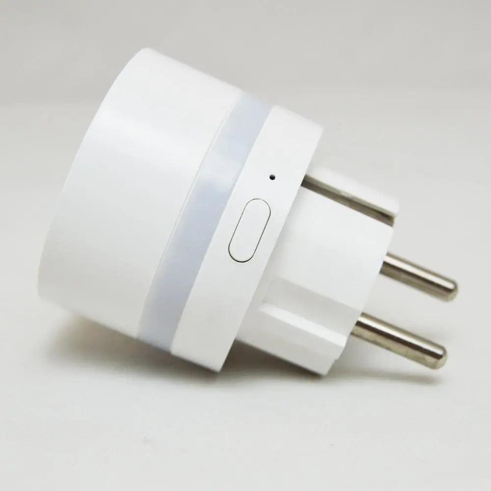 AC220V 2200W Smart EU Plug Wifi Wall Socket (10)