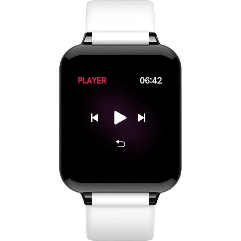 Bakeey smartwatch B57 1.3 inch Color Screen HR Blood Pressure Weather Remind Sport Smart Watch (10)