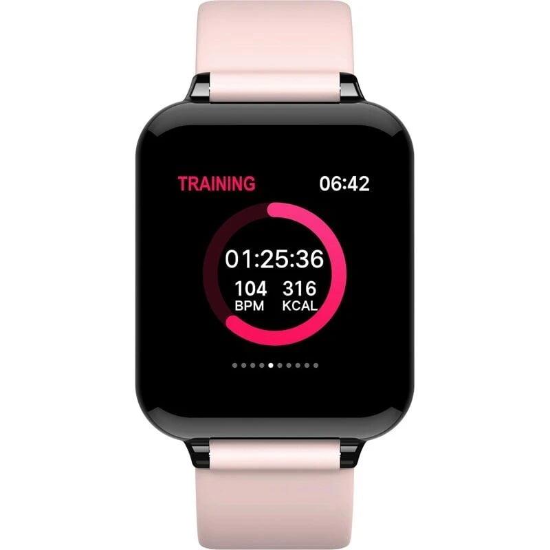 Bakeey smartwatch B57 1.3 inch Color Screen HR Blood Pressure Weather Remind Sport Smart Watch (2)