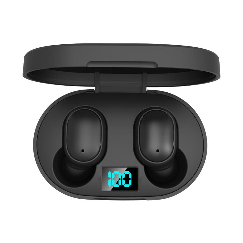 E6s tws bluetooth 5.0 earbuds digital display earphone (9)